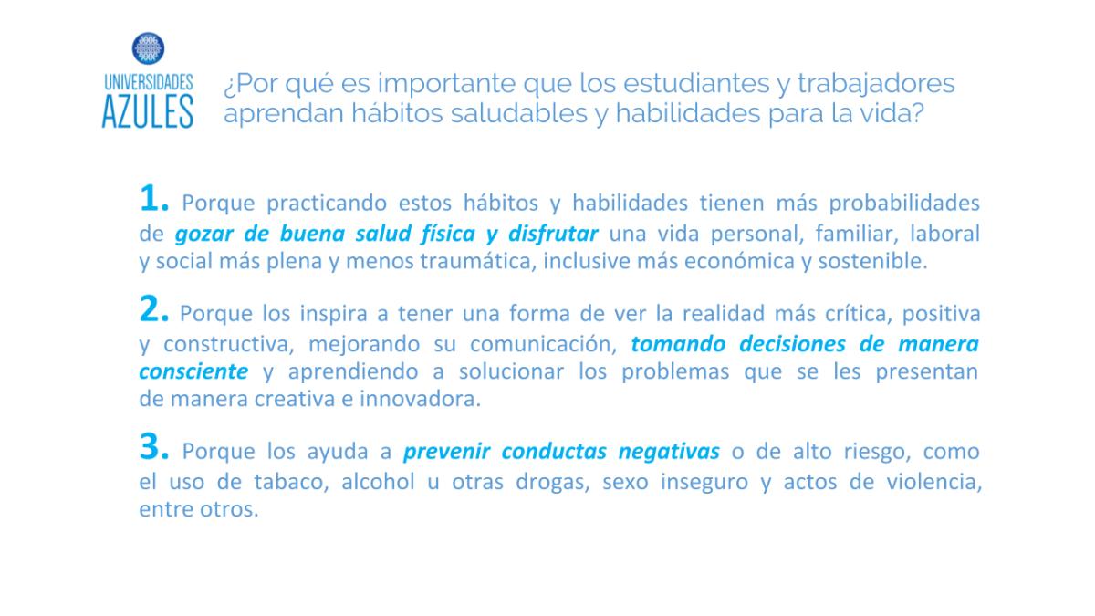 EDUCACION PARA LA SALUD Presentación Universidades Azules - Dr. Esteban Andrejuk.pptx